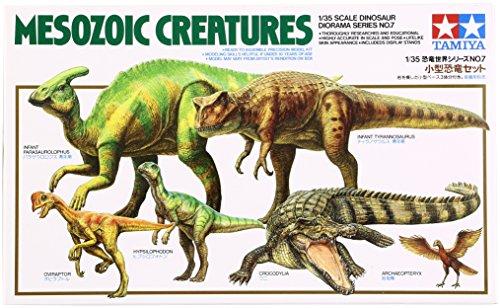 Tamiya 60107–1: 35mesozoic Creatures/Reptil Era