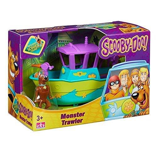 Scooby Doo Mystery Mini Fahrzeug & Figur Set Monster Trawler (Scooby Doo-monster Spielzeug)