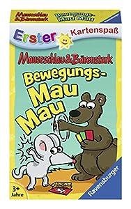 Ravensburger Tarjeta Juegos 20347Ravensburger 20347de mauseschlau & bärenstark Movimiento MAU de kinderkarten Juegos