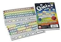 NSV - 4033 - QWIXX GEMIXXT- neue Spielvarianten, 2-er Set Blöcke, Würfelspiel