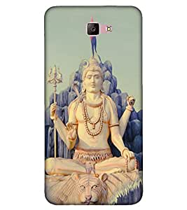 Takkloo Lord shiva statue of shiva,god of hindus, Om namah shivay, Bhole baba with Damru, Lord shiva with trishool) Printed Designer Back Case Cover for Samsung Galaxy A7 (2017) :: Samsung Galaxy A7-2017