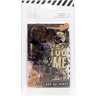 American Crafts 796.584,6cm Heidi Swapp 10268595Schablone zum Magnolia Jane Kuriositäten Stanzformen-Set, Mehrfarbig, 54Stück