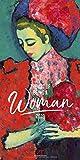 Art of being a Woman 2019, Wandkalender im Hochformat (33x66 cm) - Kunstkalender mit Monatskalendarium