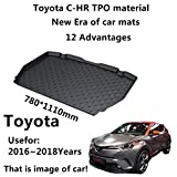 AUNAZZ/Trunk Mat Cover TPO Material Rubber Rear Trunk Cargo Liner Trunk Tray Floor...