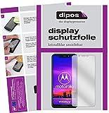 dipos I 2X Schutzfolie klar passend für Motorola One Folie Bildschirmschutzfolie