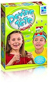 Megableu Devine Tête Mimes Niños Deducción - Juego de Tablero (Deducción, Niños, Niño/niña, 6 año(s), Francés, 72 Pieza(s))