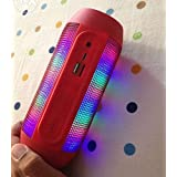 Datawind PocketSurfer3G5 Compatible Certified Pulse Series Portable Bluetooth Usb/Tf Pulse Speaker Colorful Led Lights Flashing