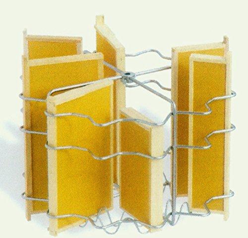 Lega Radial Honey Spinner Universal for 12Honeycomb with Lower Motor in Stainless Steel 4