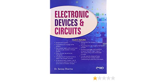 Buy Electronic Devices & Circuits Book Online at Low Prices