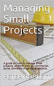 Managing Small Projects: A guide on how to manage small projects, whether they be commercial, social, domestic or personal projects. by [Noblett, Peter]