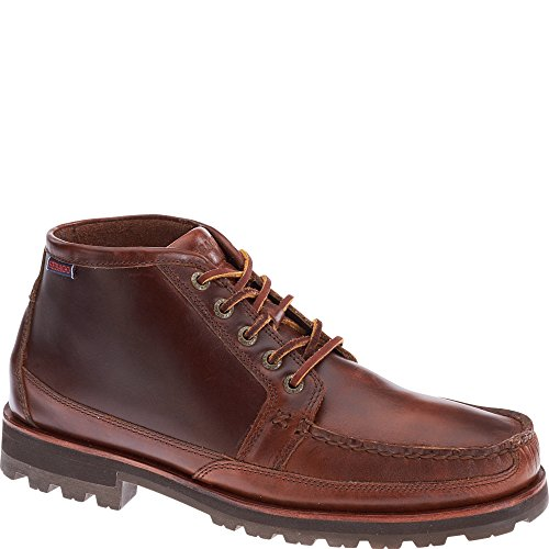 Sebago Vershire Chukka, Brown Oiled Waxy Leather B710042 Brown