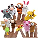 Finger Puppets Assorted Animals Novelty Educational Toys For Children