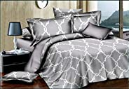Comfortable Home 6piece King Size Bedding Sets, 1piece Quilt Cover, 220x240cm,1piece Fitted Sheet,250x270cm, 4piece Pillow C