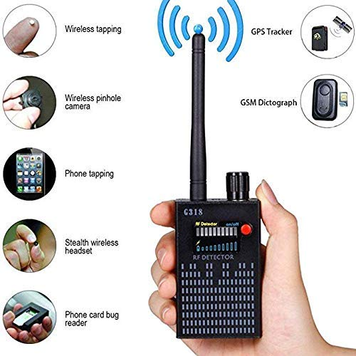 Anti-Spy-Rf-Signal GSM-Wankendetektor GPS-Signaldetektor Spy-Bug-Kamera Funkdetektor Spion Detector-Gerät GPS-RF-Scanner Finder GSM-Gerätesucher