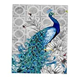 #6: Phenovo Unframed Peacock Printed DIY 5D Diamond Embroidery Painting Cross Stitch Kit Wall Art Painting Decorative Picture