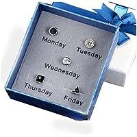 Herren Ohrringe Set für Montag bis Freitag preisvergleich bei billige-tabletten.eu