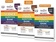 Educart Social Science,Science And Maths Class 10 Question Bank Combo Pack For 2021 Exam (With Reduced Syllabu
