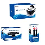 Sony PlayStation VR (PS4) pack iniciación con Cámara V2 y Move Doble Pack