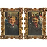 Amscan International 194418 Rotting Zombie Lenticular Portrait, 45.7 x 30.4 cm