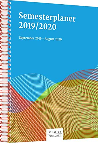 Semesterplaner 2019/2020: September 2019 - August 2020