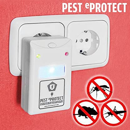 qtimber Pest eProtect Insect & Mouse Repeller 6 x 19 x 14 cm max 1000 characters 3