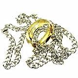 Der eine Ring - an Kette - OneSize, vergoldet