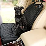 Homeself 2 in 1 Pet dog car supplies Pet Front Seat Cover Waterproof Pet Booster Seat (GREY) 3