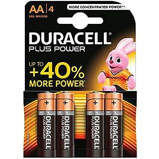 Duracell  LR6/MN1500 Alkaline Batterie (Mignon (AA), LR6) 4 Stück