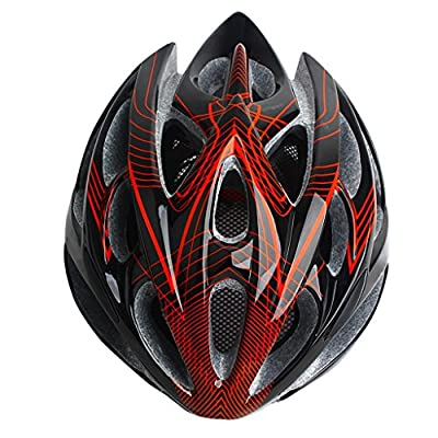 248g Ultra Light Weight - Bike Helmet, Adjustable Sport Cycling Helmet Bike Bicycle Helmets For Road & Mountain Biking,Motorcycle For Adult Men & Women,Youth - Racing,Safety Protection Teen Boys & Girls - Comfortable , Lightweight , Breathable by Zidz