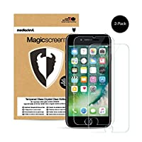 MediaDevil Magicscreen Tempered Glass Crystal Clear Screen Protector for iPhone 7 (2-Pack) (2-Pack)MediaDevil is the highest-rated and most reviewed screen protector brand on Amazon UK, with more than 1 million screen protectors sold.Features...