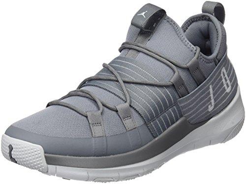 Nike Herren Jordan Trainer Pro Basketballschuhe, Grau (Cool Grey/Pure Platinum/Pure Platinum), 45 EU (Jordan Schuhe 45)