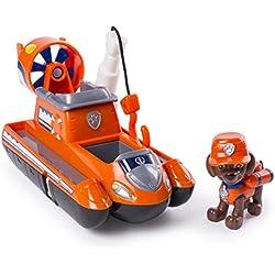 PAW PATROL Ultimate Rescue - Aéroglisseur avec hélice et crochet de sauvetage - Pour 3ans et plus - Version Anglaise
