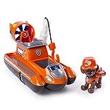 PAW PATROL Ultimate Rescue — Zuma S Ultimate Rescue Hovercraft con Moving elica e Rescue Hook, per Bambini dai 3Anni in su