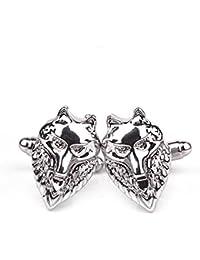 TBOP CUFFLINKS THE BEST OF PLANET Simple And Stylish Cufflinks For Unisex Jewelry Wolf Head Animals Cufflinks...