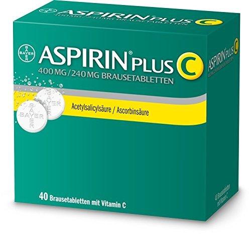 Aspirin plus C Brausetabletten-40 Stück (40 ST)