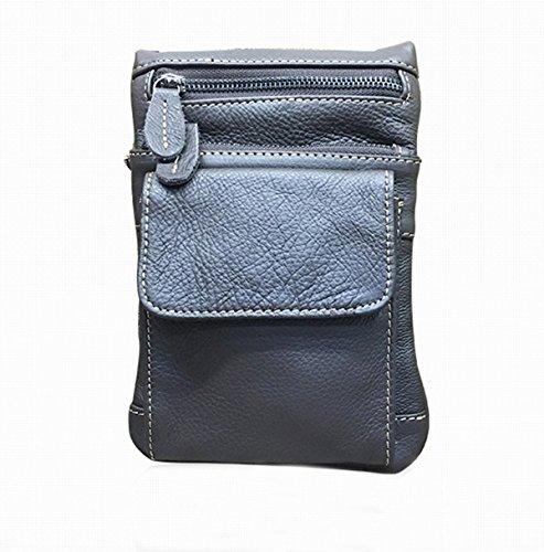 Casual Praktische Prägnante Einzel Umhängetasche Flach Crossover-Tasche Für Männer Brown