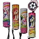 4er Set Taschenlampe ''Einhorn'' | Taschenlampe Kinder | Einhorn Lampe | Geschenk für Kinder | LED | Unicorn | Leuchten | Outdoor Ausrüstung | Preis am Stiel®