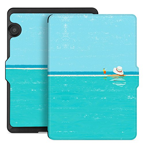 Ayotu Case for Kindle Voyage E-reader Auto Wake and Sleep Smart Protective  Cover