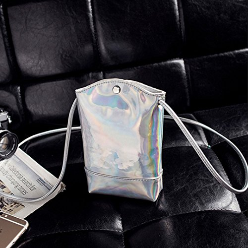 AiSi Zaino Casual, Silver (argento) - sjb-00059 Silver