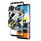 MY Commerce Samsung Galaxy S9 Plus Klar Bildschirm Schutz gehärtetem Glas HD 3D Arc Gesicht, 9H Härte [Fall Freundlicher] [Full Deckung] für Samsung Galaxy S9 Plus