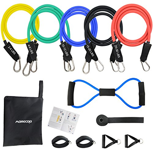 Kit Fitness Bande d'Exercice Musculation Latex 12...