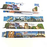 Minis kreativ 3-er Geschenkset Motivzollstock (Historische deutsche Städte-3er Set)