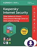 #1: Kaspersky Internet Security Latest Version - 1 PC, 1 Year (Email Delivery in 12 hours- No CD)