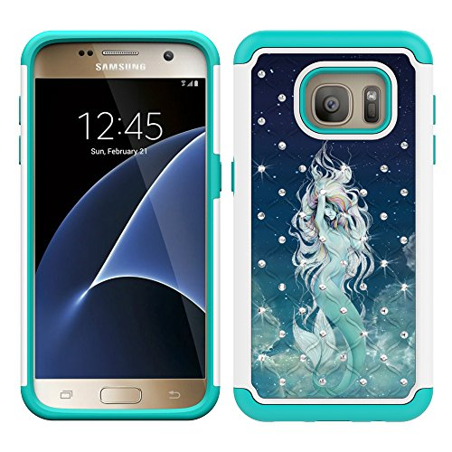 Magic Sky Crystal Series  (Mermaid)Samsung Galaxy S7 phone case