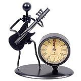 Western Style Uhr Armbanduhr Eisen Art Musik Figur ~ HOME OFFICE Schreibtisch Decor Geschenk C68 Electric Guitar