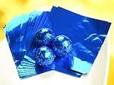 Wickelfolie blau 50 Blatt