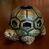 Best Posacenere UNICHE - CHUANGCHUANG Tortoise creativo con coperchio in resina Posacenere Review