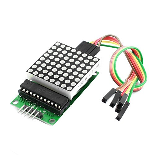 Amazon.co.uk - MAX7219 LED 8x8 Dot Matrix Display Module