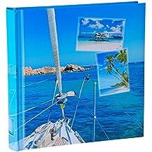 wellgro® Jumbo álbum de fotos Beaches–para hasta 400fotos 10x 15–30x 30cm (heimtexland)–100páginas