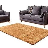 Teppich Plüsch Rechteckiger Teppich für Schlafzimmer am Bett BedWohnzimmer 3,5 cm Dicke Teppiche für den Schutzboden, Größe optional (Größe: 1,4 \u0026 mal; 2,0 m)